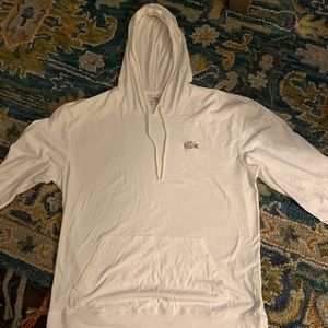 Lacoste men's hooded shirt